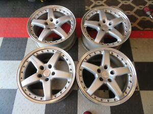 Set Of 4 Authentic Bmw Hamann Pg2 Oz Racing Wheels 18x8 5 Jx18 Rare