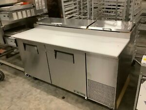 True Tpp 67 67 Inch Refrigerated Pizza Prep Table