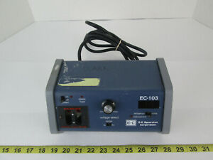 E c Apparatus Corp Minicell Compact Power Supply Ec 103 Science Lab Equipment