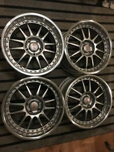 Oz Superleggera Iii 18x9 5 18x10 5 3 Piece Wheels Corvette Camaro Trans Am Jdm