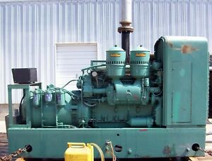 115kw Delco Diesel Standby Generator With Detroit Engine