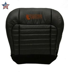 2001 Ford F150 Harley davidson driver Side Bottom Replacement Leather Seat Cover