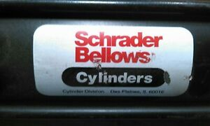 Schrader Bellows 12 Stroke Pneumatic Cylinder