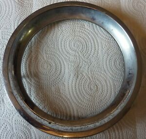 1964 1965 1966 Chrysler Imperial Gas Trim Ring Cover Bezel Chrome 2404736 Oem