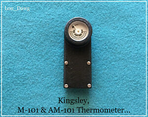 Kingsley Machine M 101 Am 101 Thermometer Hot Foil Stamping Machine