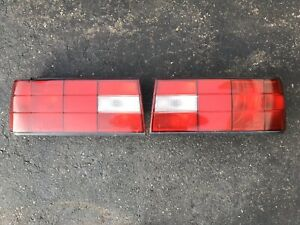 Bmw E30 Late Model Tail Lights All Red