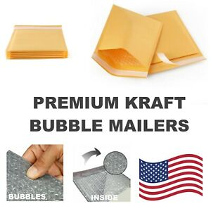 0000 4x6 Kraft Bubble Mailers Padded Envelope Protective Packaging Pouch Bags