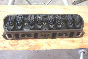 1970 1971 Ford Mustang 302 Cylinder Head Assembly Used D0oe Date Code 0f2