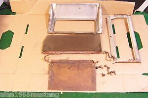 1971 1972 1973 Ford Mustang Factory A C Heat In Dash Unit Parts Used