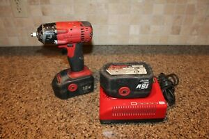 Snap on Ct4418 3 8 18v Cordless Impact Wrench With Charger 2 Batteries