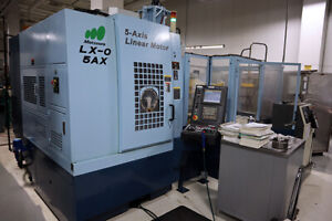 Matsuura Lx 0 5ax 5 axis Machining Center Incl Robot And Tooling Package