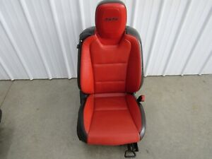 2012 2015 Camaro Ss Zl1 Oem Gm Front Rh Passenger Side Seat Red Leather U61