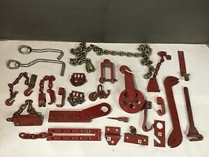 Large Lot Panel Auto Body Grip Gripper Frame Collision Repair Chain Pulley
