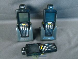 Lot Of 3 Motorola Mc3100 Mobile Computer Barcode Scanners
