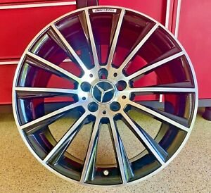 Mercedes S550 20 Inch Staggered S63 Wheels Rims Set4 New Fits S550 S400 S450 Amg