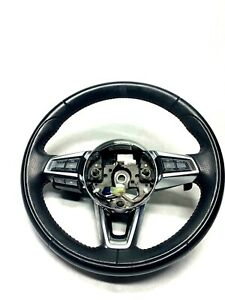 2017 2018 Fiat Spider Black Steering Wheel With Controls