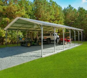 24x30x7 Carport Cover Install Is Included Serving Nation wide prices Vary