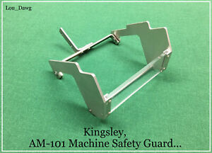 Kingsley Machine Am 101 Machine Safety Guard Hot Foil Stamping Machine