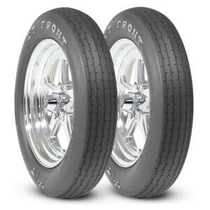 2 Mickey Thompson Et Front Tires 27 5x4 15 Drag Racing Runner Mt 90000026534
