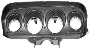 1969 Ford Mustang Deluxe Dash Instrument Bezel m3548d 69 170171 New