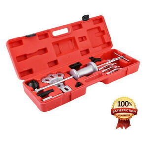 9 way Slide Hammer Axle Bearing Dent Hub 2 3 In external Gear Puller Tools Kit