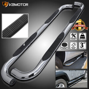 88 98 Chevy Gmc C k Extended Cab 2dr Chrome Running Boards Side Step Nerf Bar