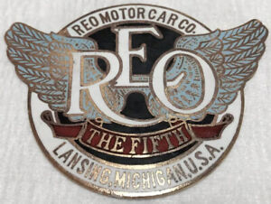 1912 1919 Original Reo The Fifth Radiator Emblem