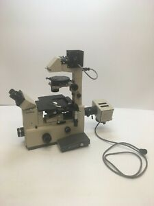 Olympus Imt 2 Binocular Microscope With Phase Contrast Three Objectives C1