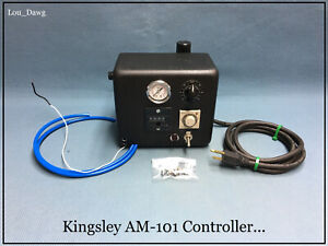 Kingsley Machine Am 101 Controller Hot Foil Stamping Machine