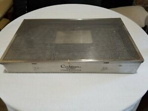 Codman Bookwalter 50 4507 Sterilization Container Table Fixation Ring Case