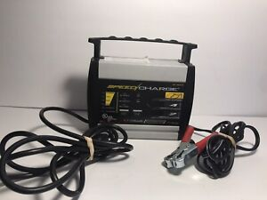Schumacher Electric Speed Charge Battery Charger Sc 600a 6v 12v Sc 600a