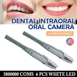 2pc Dental Camera Intraoral Focus Digital Usb Imaging Intra Oral Clear Image Usa