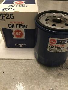 New Vintage Ac Duraguard Pf25 Oil Filter Part 6438261