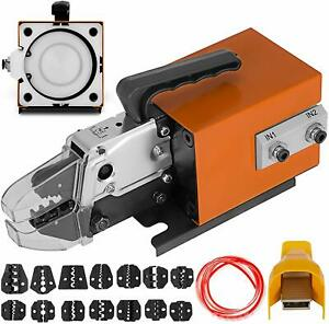 Am 10 Pneumatic Crimping Tool 15 Free Dies Good Quality Crimper High Efficiency