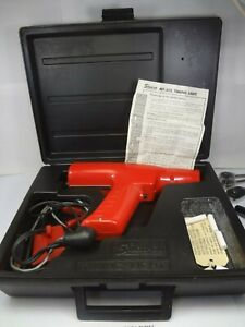 Snap On 12v Engine Timing Light W case Mt 212 Very Nice
