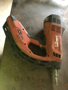 Hilti Gx 3 Gas Actuated Fastening Tool Great Condition No Case