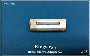 Kingsley Machine Brass Sleeve Adapter Hot Foil Stamping Machine