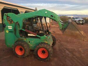 2012 S175 Bobcat Skid Loader New Tires And Wheels Only 1298 Hours