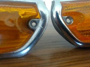 Bmw Vintage E10 1502 2002 Usa Type Turning Signal Lights Left Right Side