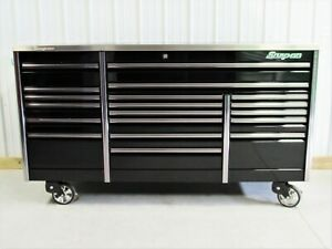 Snap On Black 84 Epiq All Drawer Tool Box Toolbox Stainless Top