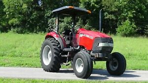 Case International Jx65 Maxxima Farm Tractor Great Hay Tractor
