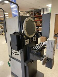 Optical Comparator Id No t 17774 Nikon Profile Projector R 14 Works Great