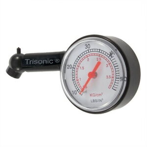 Dial Tire Gauge Pressure Air Measure 5 50 Psi For Truck Cars Motorcycle Bikes