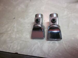 2 Nos New Mopar Ford Chevy Rear Seat Speaker Fader Switch Knobs 1960 S 1970 S