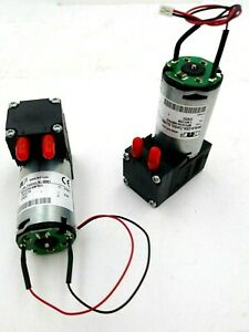 Lot Of 2 Knf Micro Diaphragm Gas Pumps Mpu4154 Nmp830 New Open Box