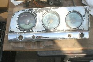 1949 1950 1951 Plymouth Instrument Cluster of