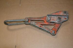 Klein Tools 1656 50 Jaw Wire Cable Puller Chicago Grip 8 000 Lbs