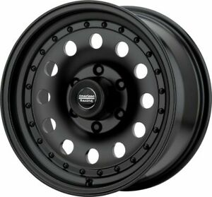 16 American Racing Ar62 Outlaw 2 16x8 Satin Black 6x5 5 Truck Wheel 0mm Rim