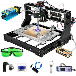 Cnc 3018 Pro Machine Router 3 Axis Engraving Offline Control 5500mw Laser Head