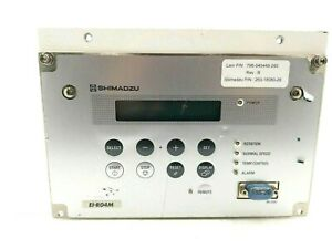 Shimadzu Ei r04m Turbomolecular Pump Controller Tmp Power Unit
